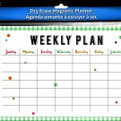 Magnetic Dry Erase Calendar - (Full Sheet Magnetic) - v6
