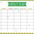Magnetic Dry Erase Calendar - (Full Sheet Magnetic) - v7