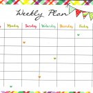 Magnetic Dry Erase Calendar - (Full Sheet Magnetic) - v8