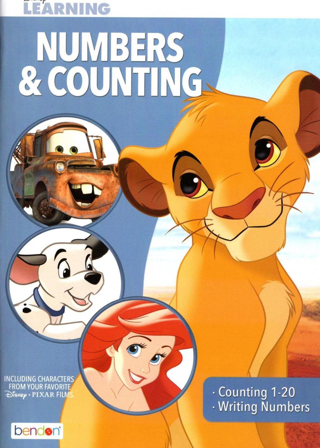 Numbers and Counting - Disney Adventures in Learning Educational Activity Workbook - v 2
