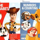 Numbers and Counting / The Alphabet  Educational Activity Workbook - Set of 2