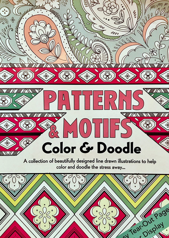Patterns & motifs color & doodle