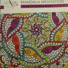 Color Full mandala Meditation Adult Coloring Book