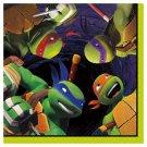 Teenage Mutant Ninja Turtles Beverage Disposable Napkins - Multicolor (16 Count)
