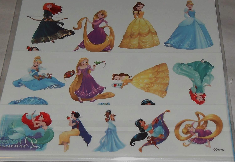 Savvi 25 Temporary Tattoos - Disney Princess Tattoos