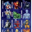 Marvel Heroes #2 Standard Stickers - 4 Sheet