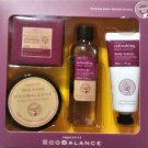 Bath Gift Natural Refreshing Black Current Paraben Free Holiday Set