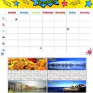 Magnetic Dry Erase Calendar + Bonus 2019 Magnetic Calendar - v2