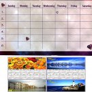 Magnetic Dry Erase Calendar + Bonus 2019 Magnetic Calendar - v4