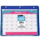 School Calendar 2018-2019 Student Purple Fashion Binder 3 Ring Protective Cover Monthly Planner