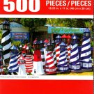 Cra-Z-Art Miniature Lighthouses - 500 Piece Jigsaw Puzzle