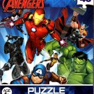 Avengers 48 Piece Jigsaw Puzzle Iron Man Hulk Captain America - v5