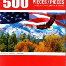 Cra-Z-Art Land of the Free - 500 Piece Jigsaw Puzzle