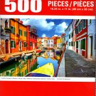 Cra-Z-Art Colorful Houses in Burano, Venice, Italy - 500 Piece Jigsaw Puzzle