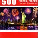 Cra-Z-Art Fireworks at Night, NYC - 500 Piece Jigsaw Puzzle