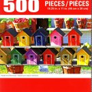 Cra-Z-Art Painted Wood Birdhouses - 500 Piece Jigsaw Puzzle