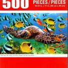 Cra-Z-Art Green Sea Turtle Cruising in the Ocean - 500 Piece Jigsaw Puzzle