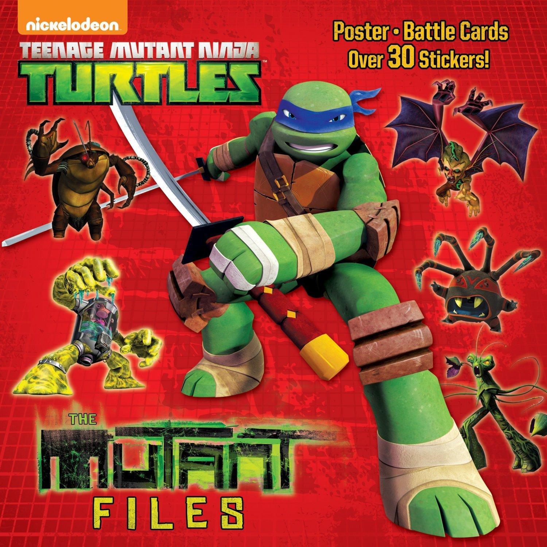 The Mutant Files (Teenage Mutant Ninja Turtles) (Pictureback(R))