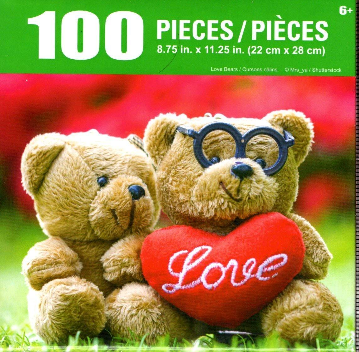 Cra-Z-Art Love Bears - 100 Piece Jigsaw Puzzle