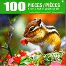 Cra-Z-Art Chipmunk Eating Berries - 100 Piece Jigsaw Puzzle