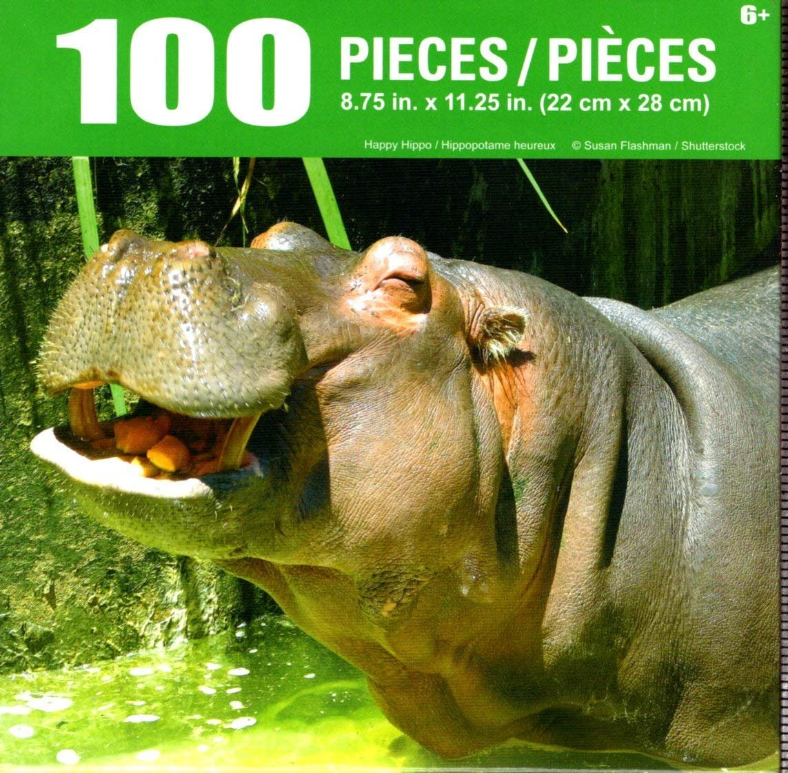 Cra-Z-Art Happy Hippo - 100 Piece Jigsaw Puzzle
