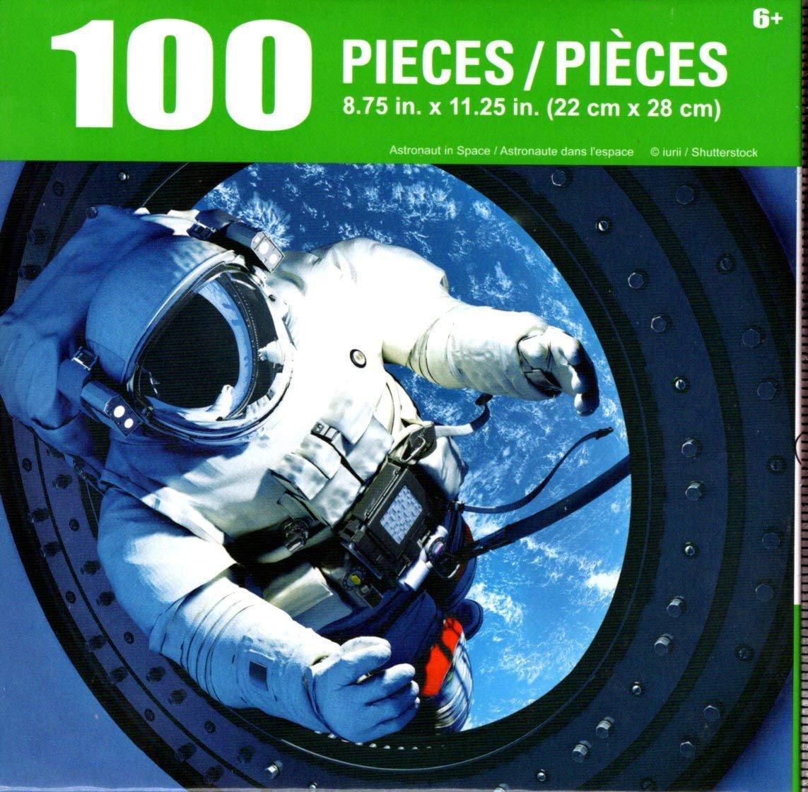 Cra-Z-Art Astronaut in Space - 100 Piece Jigsaw Puzzle