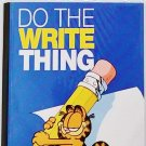 """ Do The Write Thing"" Garfield The Cat Journal Notebook"