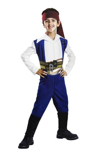 Jack Sparrow Basic Kids Costume - 4-6x