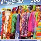 LPF Colorful Silk Pareos - 500 Piece Jigsaw Puzzle
