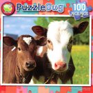 Two Young Calfs - 100 Piece Jigsaw Puzzle