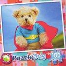 Puzzlebug 100 Piece Puzzle ~ Super Bear