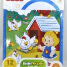 Fisher Price Little People Frame Jigsaw Puzzle - 12 Pieces - Chickens on the Farm