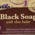 2 Bars of Royal Black Soap with Shea Butter (2)