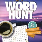 Large Print Word Hunt - All New Puzzles - (2018) - Vol.58