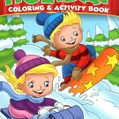 Christmas Edition Holiday Coloring and Activity Book 160 Page ~ Christmas Winter Holiday Book! v7