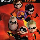 Disney Pixar Incredibles 2 Jumbo Coloring and Activity Book
