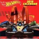 Hot wheels 2019 Monthly Calendar - Twelve Months/Year