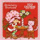 Strawberry Shortcake 2019 Monthly Calendar - Twelve Months/Year