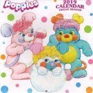 Popples 2019 Monthly Calendar - Twelve Months/Year