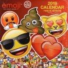 2019 Calendar Emoji 12 Month