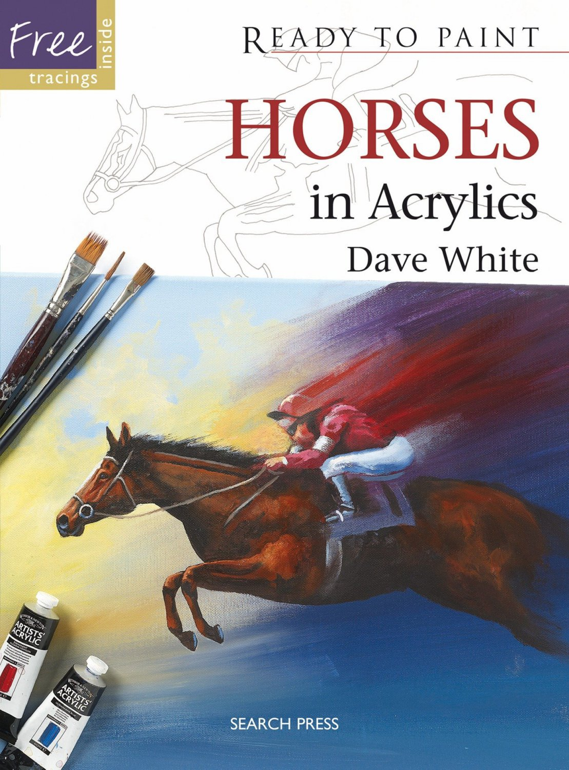 Horses in Acrylics (Ready to Paint)