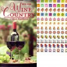 Wine Country - 2019-2020 2 Year Pocket Planner/Calendar / Organizer - Monthly Page Format