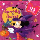 Disney Minnie Mouse Stickers Book - 125 Stickers - Halloween Themed