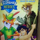Disney Heroes Big fun Book to color 96 Pg ~ Extreme Rescue