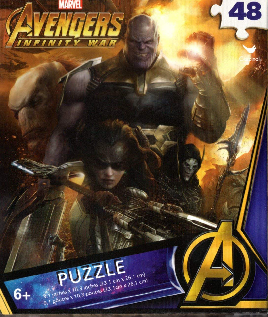 Marvel Avengers - 48 Pieces Jigsaw Puzzle - v10