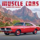 16 Month Wall Calendar 2019: Muscle Cars - Each Month Displays Full-Color Photograph.
