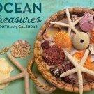 16 Month Wall Calendar 2019: Ocean Treasures - Each Month Displays Full-Color Photograph.