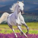 16 Month Wall Calendar 2019: Horses - Each Month Displays Full-Color Photograph.