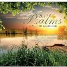 16 Month Wall Calendar 2019: Psalms - Each Month Displays Full-Color Photograph.