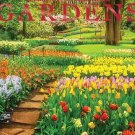 16 Month Wall Calendar 2019 Gardens. Each Month Displays Full-Color Photograph.